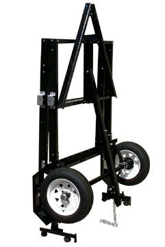 SJ-8530MC - Folding Trailer Kit With Motorcycle Ramps | Red Trailers | www.redtrailers.com