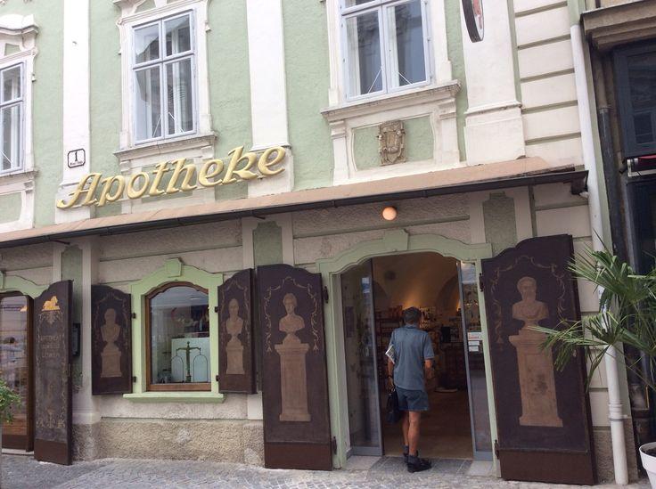 St Pölten, Austria - Löwenapotheke