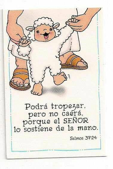 Cuando el hombre cayere, no quedará postrado, Porque JEHOVA sostiene su mano. Salmos 37:24 RVR1960 .. <3 .. Though he fall, he shall not be utterly cast down: for the Lord upholdeth him with his hand. Psalm 37:24 KJV