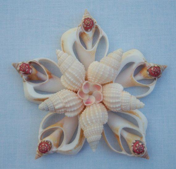 Seashell Wall Decor | Seashell Ornament Holiday Window Wall Decor