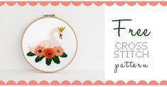 February Free Cross Stitch Pattern