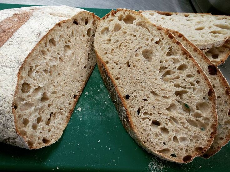 Our #sourdough sliced thick ready for staff breakfasts #realbread #burscough #STbestbakeries #ormskirk #merlinsbakerycafe #realfood #foodandfarming
