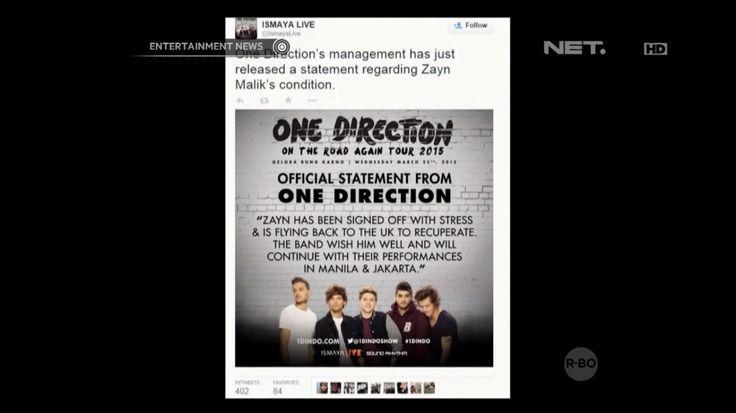 Zayn Malik Tidak Akan Hadir di Konser One Direction di Jakarta