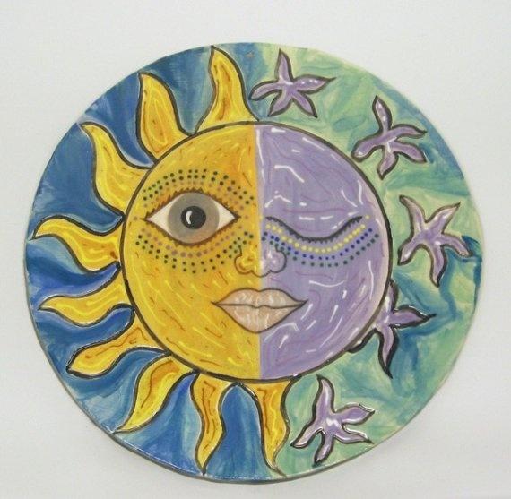 Best 171.0+ Sun and Moon Wall Art images on Pinterest   Sun moon ...