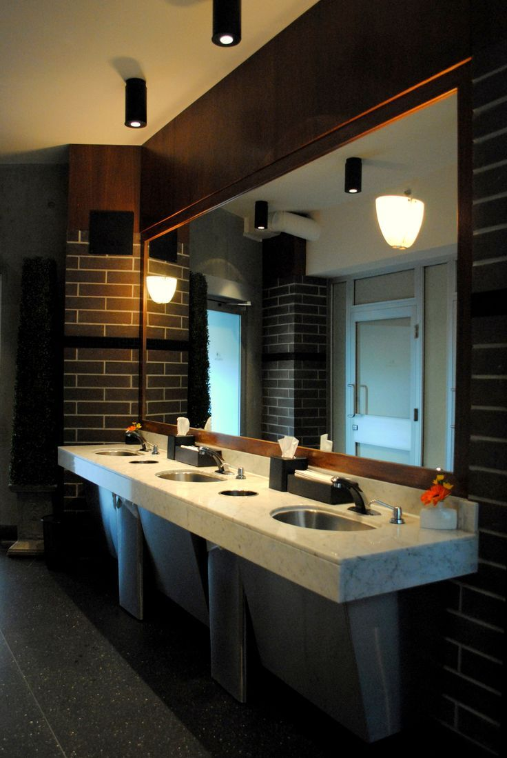 Best 25 restroom design ideas on pinterest toilet for Washroom design ideas