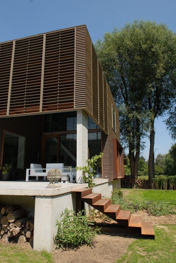 Beautiful House In Kortrijk By Devolder Architects