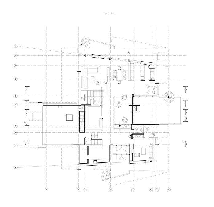 Gorki House Atrium Studio Atrium Contemporary House Architect