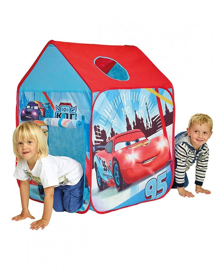 Hang out with Lightning McQueen in this easy to use Disney Cars pop up play tent  sc 1 st  Pinterest & 94 best Disney Cars images on Pinterest