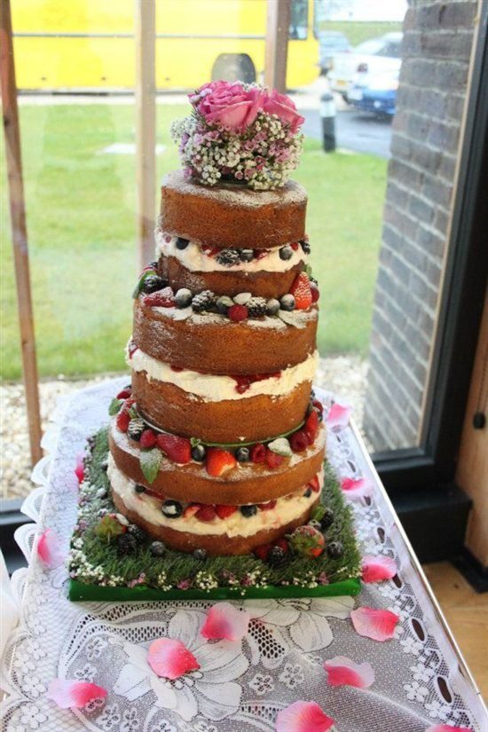 17 Best Images About Naked Wedding Cake On Pinterest -9686