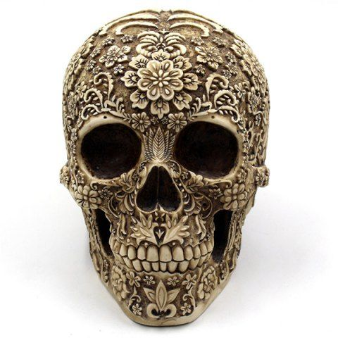 GET $50 NOW | Join RoseGal: Get YOUR $50 NOW!http://www.rosegal.com/other-holiday-supplies/retro-halloween-party-floral-skull-769752.html?seid=1424208rg769752