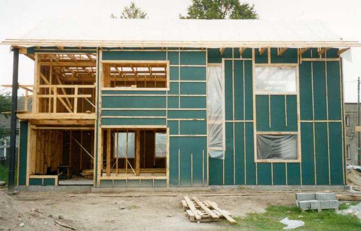 Когда каркас дома готов, встает вопрос: А чем отделать стены каркасного дома?