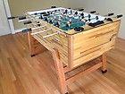 Quarter Million Dollar Foosball Table Foosball Table Quarter Million Dollar Game Vintage Butcher Block ...