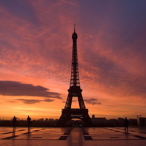My goal is to go Paris and climb to the top of the Eiffel Tower with someone I love.  I'm a hopeless romantic