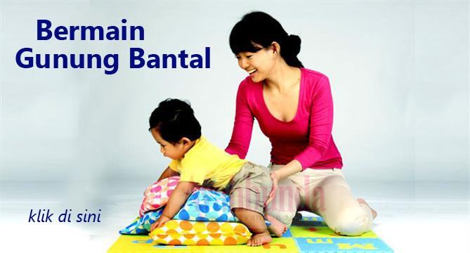 Permainan ini melatih bayi usia 6-9 bulan