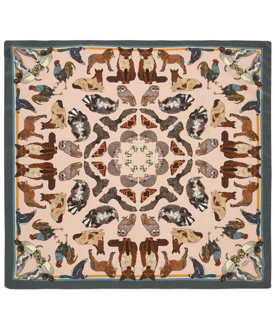 Silken Favours - Quintessentially English Silk Scarf