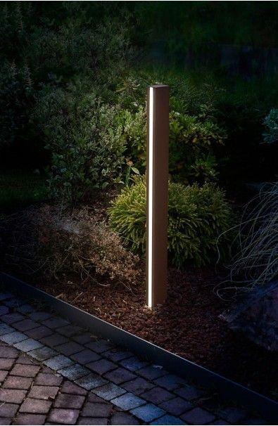 Paletto luminoso Stick2 led pensato per l'illuminazione esterna a led