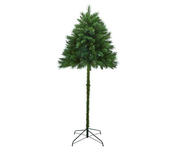 Buy Argos Home 6ft Half Parasol Christmas Tree Green Christmas Trees Argos Green Christmas Tree 6ft Christmas Tree Half Christmas Tree