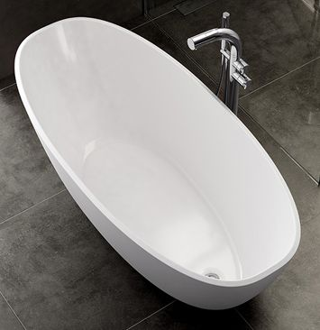 Mozzano | Victoria And Albert Volcanic Limestone Modern Freestanding Baths | Victoria and Albert Baths | Baths | PT Ranson