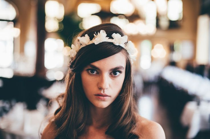 Cassis Headband via Married in Blue. Click on the image to see more!