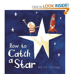 I use this book for my space theme. Students write/draw their own stories of how they would catch a star.