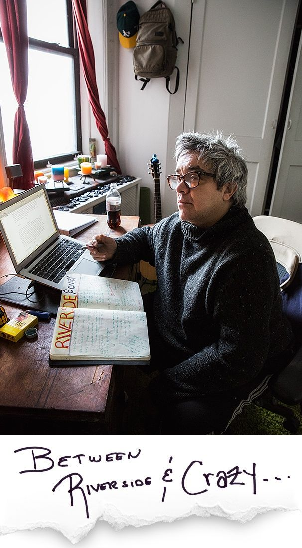 BETWEEN RIVERSIDE AND CRAZY playwright Stephen Adly Guirgis on how cigarettes, prayer & sweatpants help him write. #inspiration