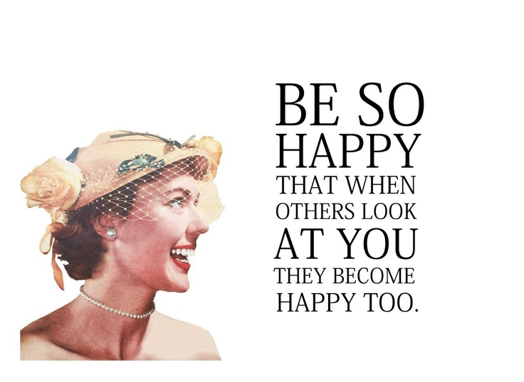 "Quirky Quotes by Vintage Jennie  | ""Be Happy"""