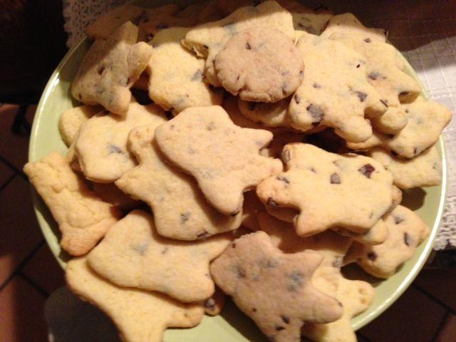 Ghost cookies.
