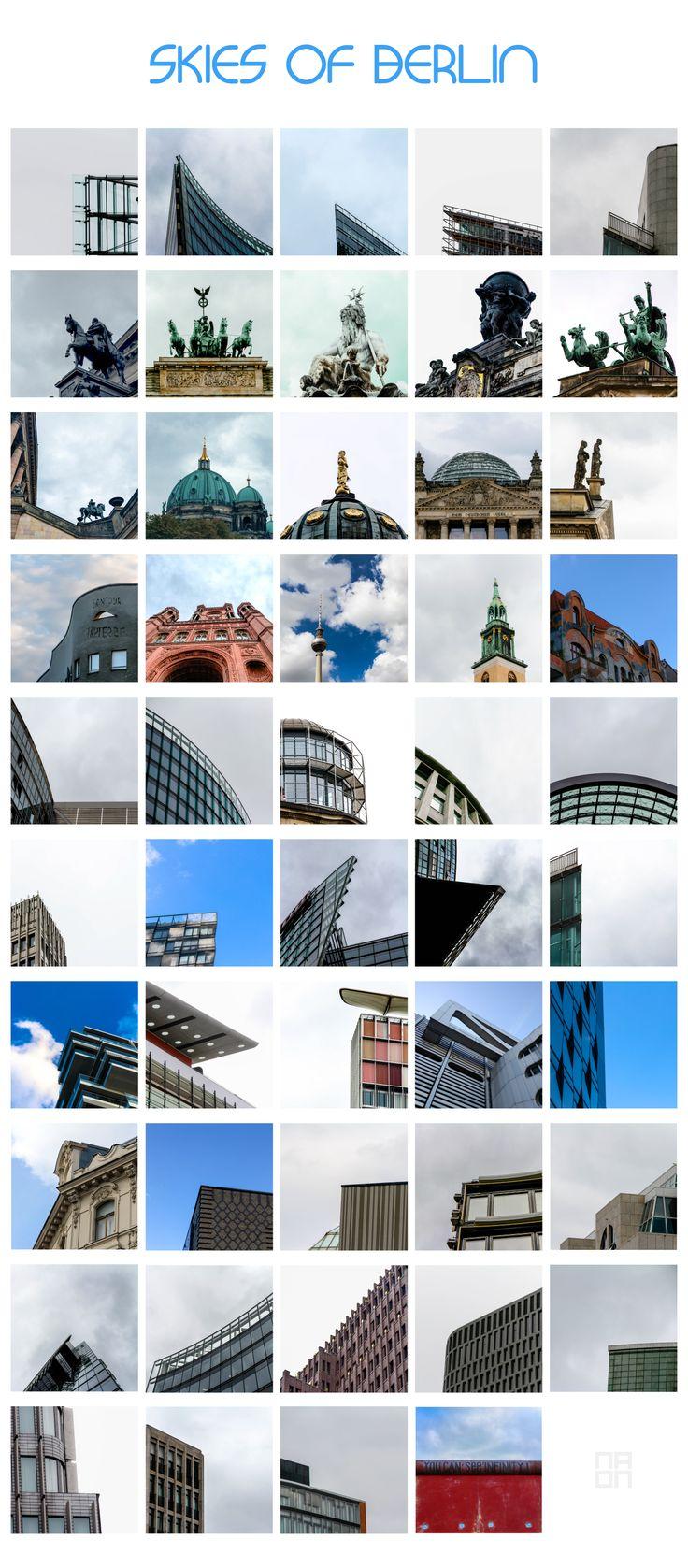 """Consultate il mio progetto @Behance: """"SKIES OF BERLIN""""…"""