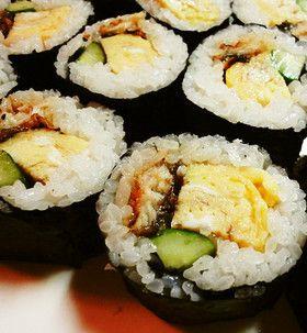 お弁当・節分に*鰻の太巻き寿司