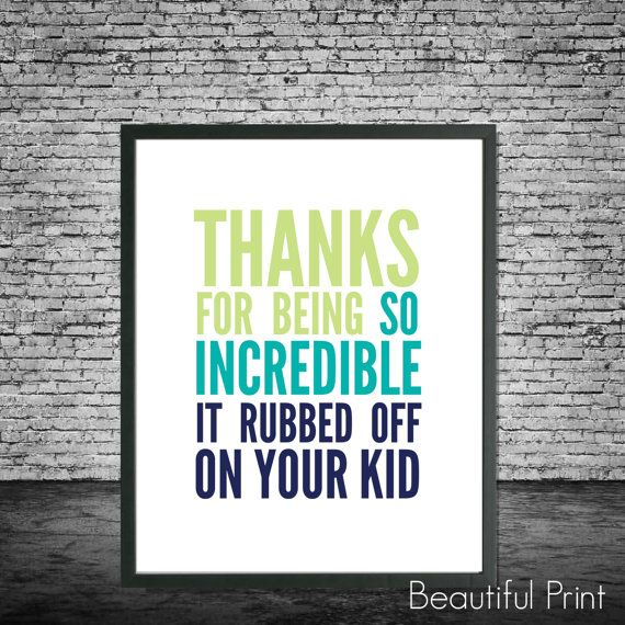 Funny Fathers day poster Funny Fathers Day Quote by BeautifulPrint