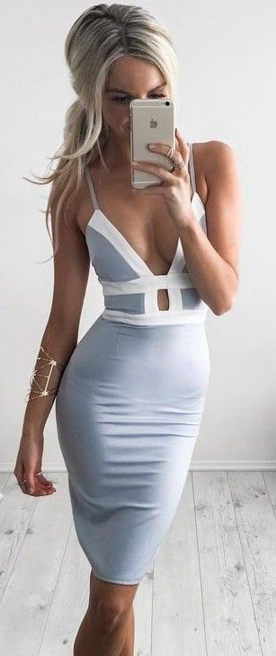 Little Grey Dress                                                                             Source