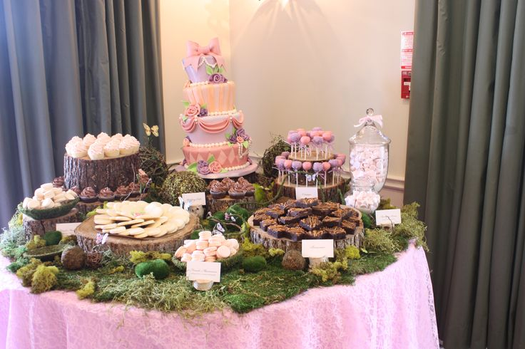 Dessert table at Windermere House in Muskoka!