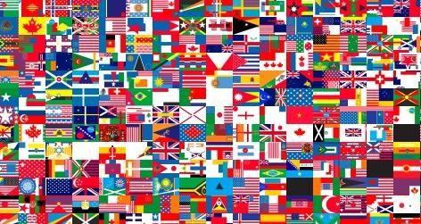 Alle vlaggen van de wereld! Kan jij de Nederlandse vlag vinden?