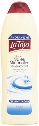 La Toja - Hidrotermal Gel Con Sales Minerales 650 ml