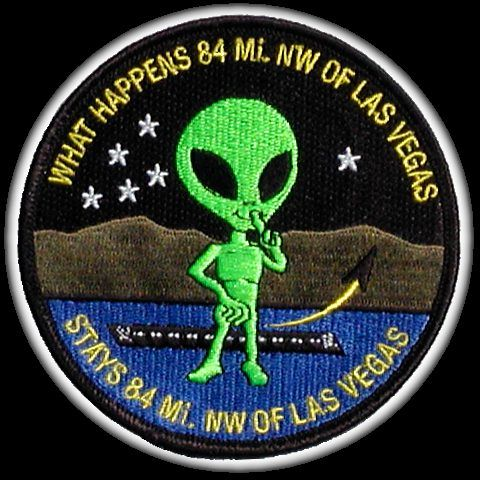 Area 51 Alien Patch