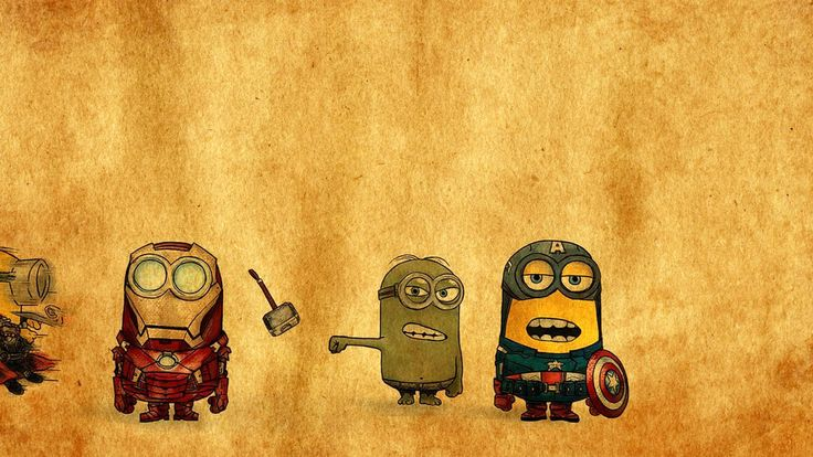 Minions Avengers Drawing #5346 exclusive HD wallpapers for Desktop background, Iphone, Ipad, and android device. Download now on downloadwallpaperhd.com.