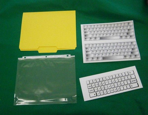 DIY File Folder Lap Top!