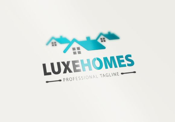 Luxe Homes Logo by CreativeDezing on @creativework247