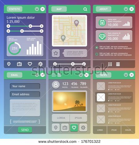10 best Mobile App Home Screens images on Pinterest Screens - best of blueprint application mobile