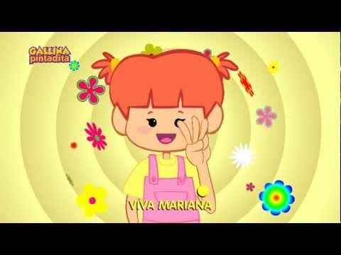 Mariana (español) - DVD y BluRay Gallina Pintadita 1 - OFICIAL - YouTube