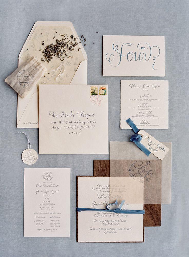 Paper Goods by Tiny Pine Press. Photography: Jose Villa Photography - josevillaphoto.com
