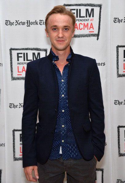 English actor, Tom Felton...