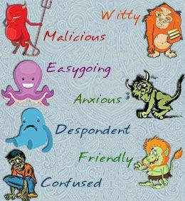 Personality traits list