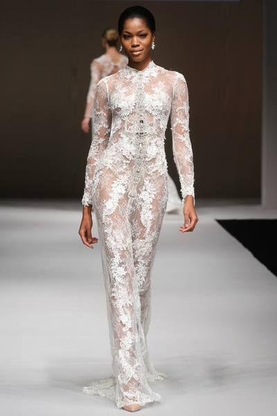 New York Spotlight Fashion Show – Skyler dress from Anna Romysh Haute Couture collection   phot. © Shawn Punch Photography  #weddingdress #ARHC #AnnaRomysh #HauteCouture #bridal  #suknieślubne #fashionshow #sukniaślubna #ślub