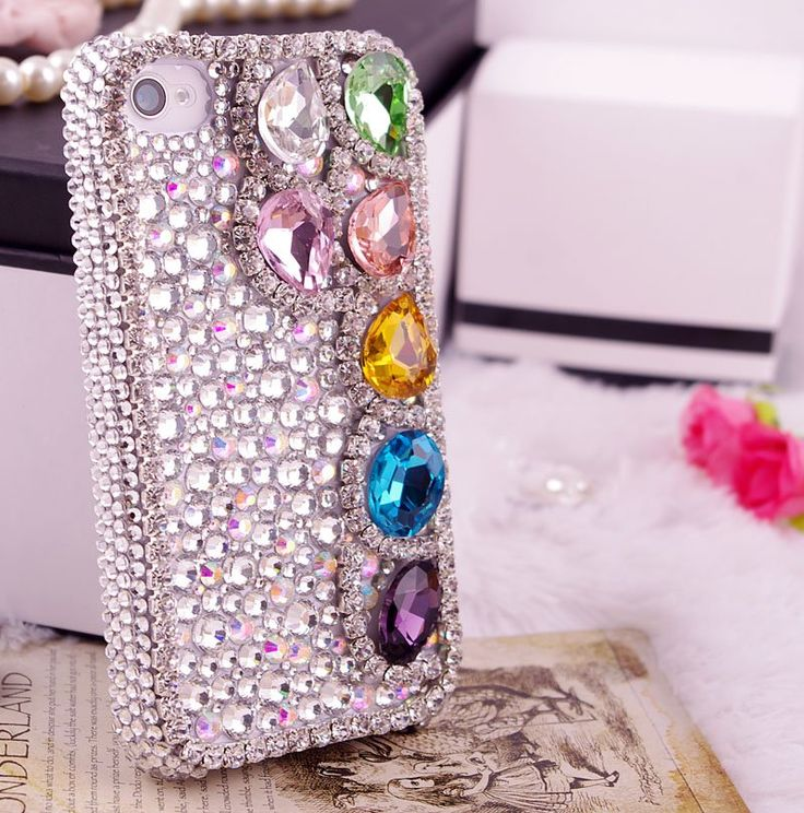 diy rhinestone phone case - photo #15