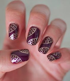 deepavali special nail arts designs in india - Google Search