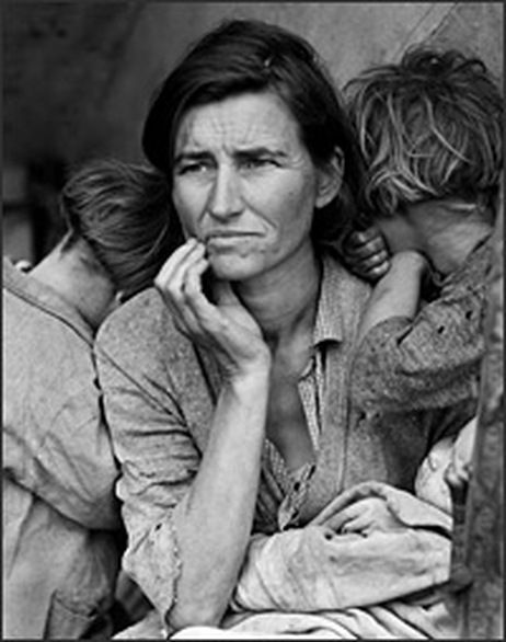 January: Learn more about Dorothea Lange, and her famous photos of Great Depression families.