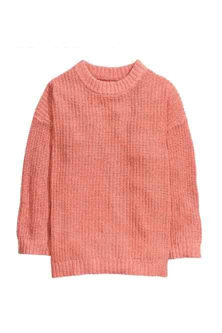 Sweter w prążek