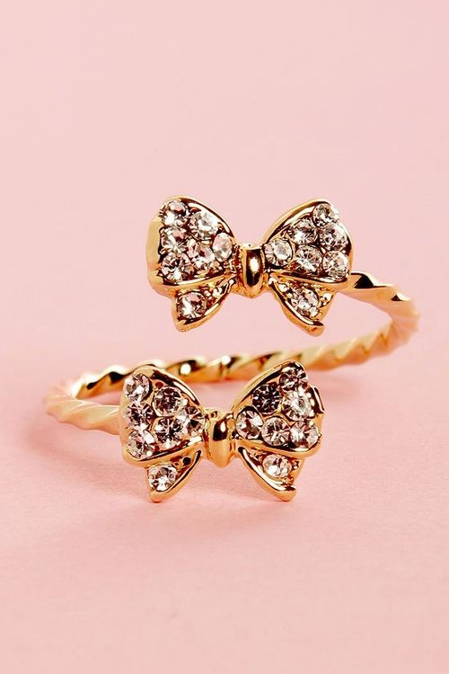 Double bow ring!
