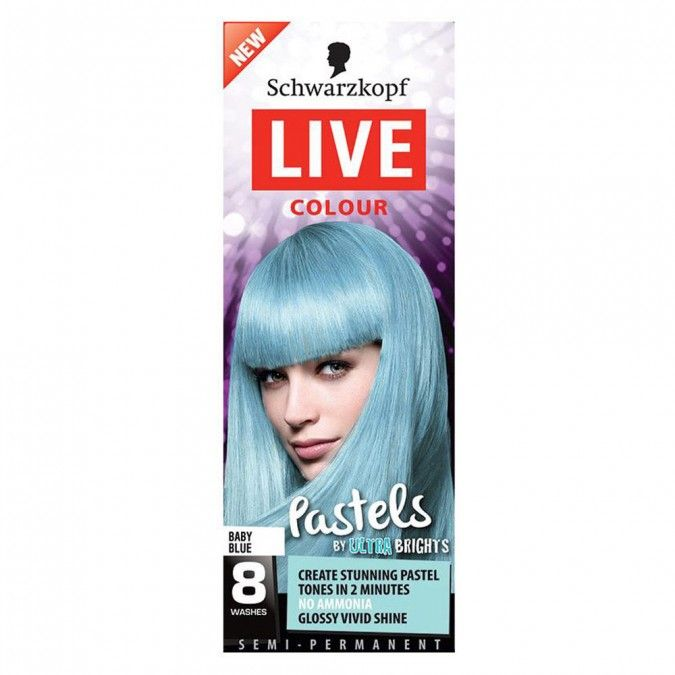 Re-create the latest trend and achieve stunning pastel tones with Schwarzkopf LIVE Colour Pastels by Ultra Brights.